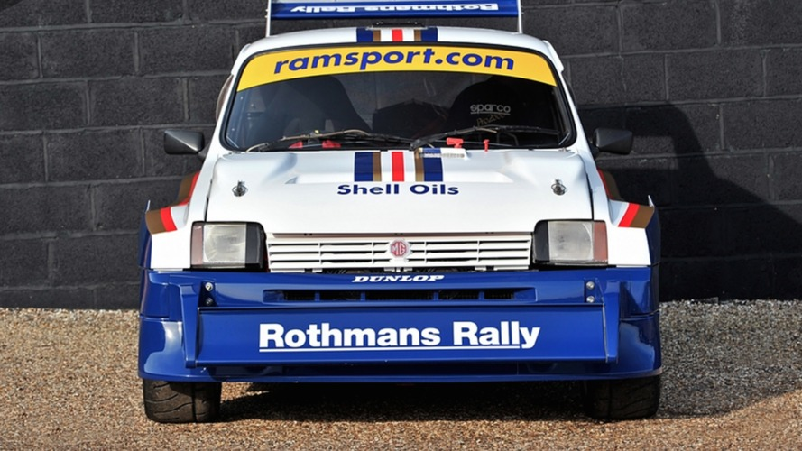 1985 MG Metro Group B rally car needs a new driver