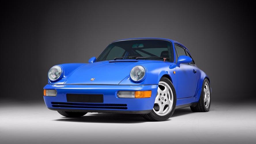 Une très rare Porsche 911 Carrera RS NGT en vente aux enchères