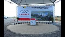Pedra Fundamental: Chery oficializa implantação de fábrica no Brasil