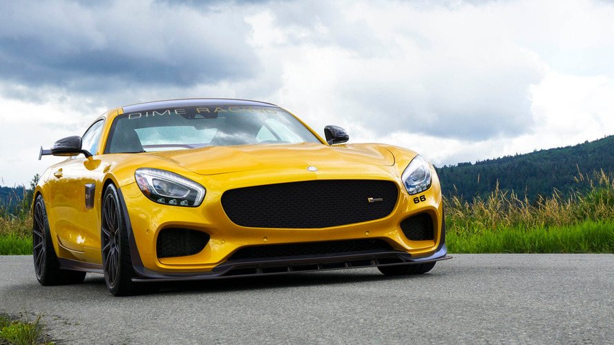 Limited-run Dime Racing Mercedes-AMG GT comes with a fancy watch