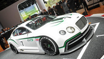Bentley Continental GT3 live in Paris 27.09.2012