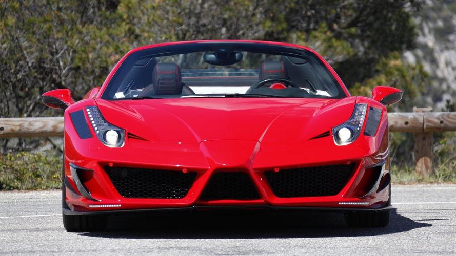 Ferrari 458 Spider Monaco Edition by Mansory