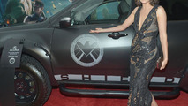 Cobie Smulders With S.H.I.E.L.D. Acura MDX 13.4.2012