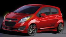 Chevrolet Spark Z-Spec concept for SEMA 22.10.2012