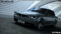 TMCars reveals a modern interpretation of the BMW 3-Series (E30)