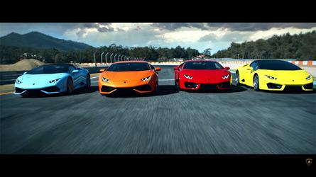 Lamborghini Huracan Range Video