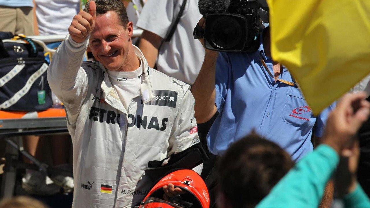 Michael Schumacher 24.06.2012 European Grand Prix
