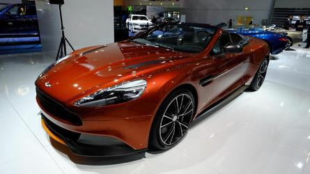 Aston Martin Vanquish Volante Q showcased at Frankfurt Motor Show