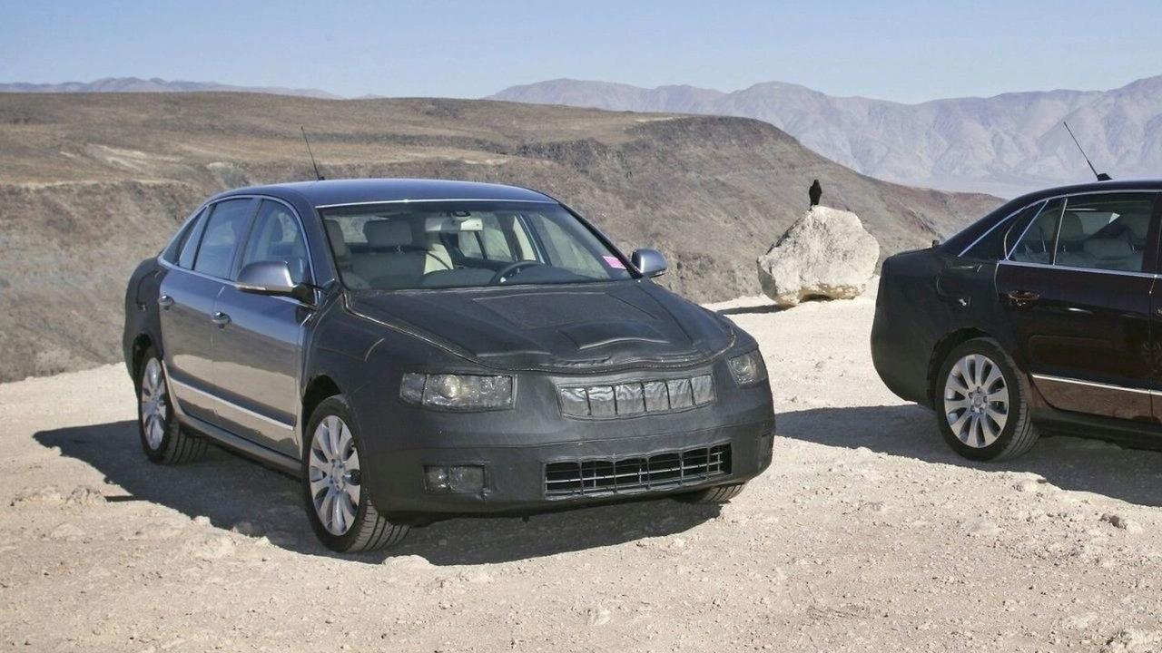 2009 Skoda Superb in Death Valley, USA
