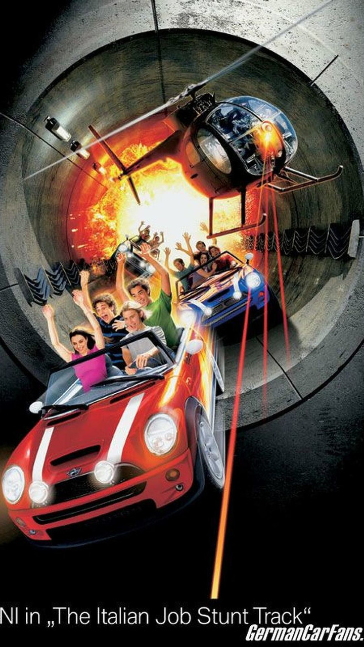 Mini rollercoaster at Paramount Canada's Wonderland