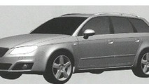 2010 Seat Exeo Leaked Images Reveal Design Shape