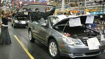 2008 Chrysler Sebring Convertible Production Launch