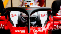 Sebastian Vettel, Ferrari SF16-H running the Halo cockpit cover