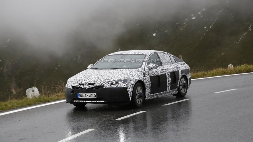 2017 Opel Insignia spied heavily camouflaged testing on a foggy day [video]