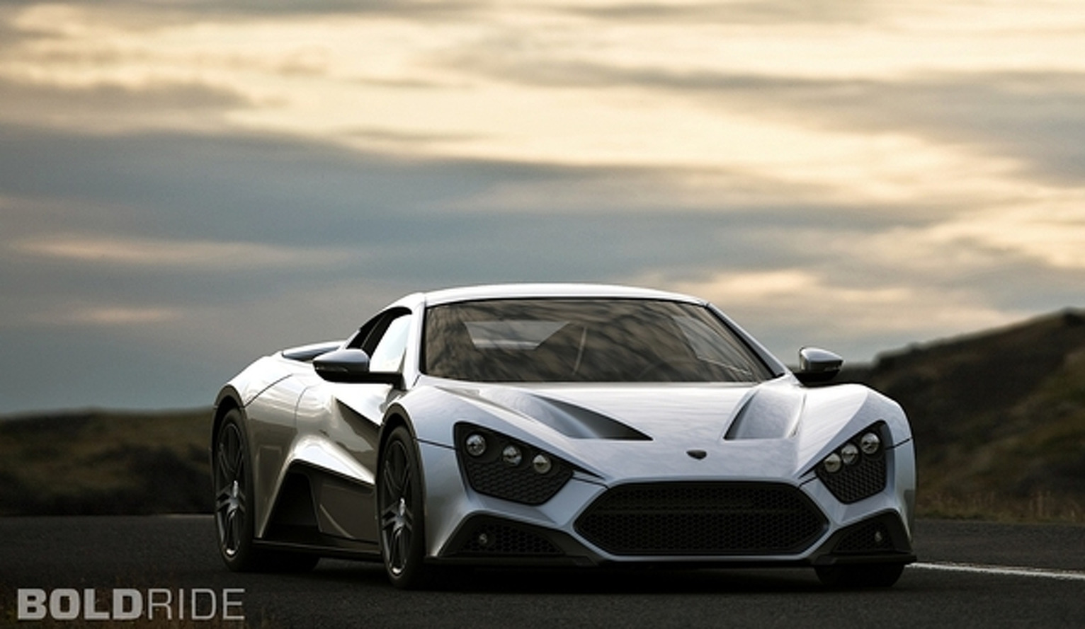 Wheels Wallpaper- 2011 Zenvo ST1
