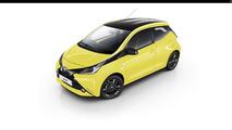 Toyota Aygo x-cite Yellow Fizz