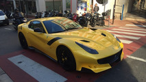 Ferrari F12tdf looks sensational in Monaco