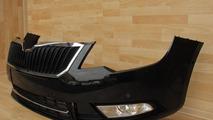 2013 Skoda Superb bumper 17.1.2013