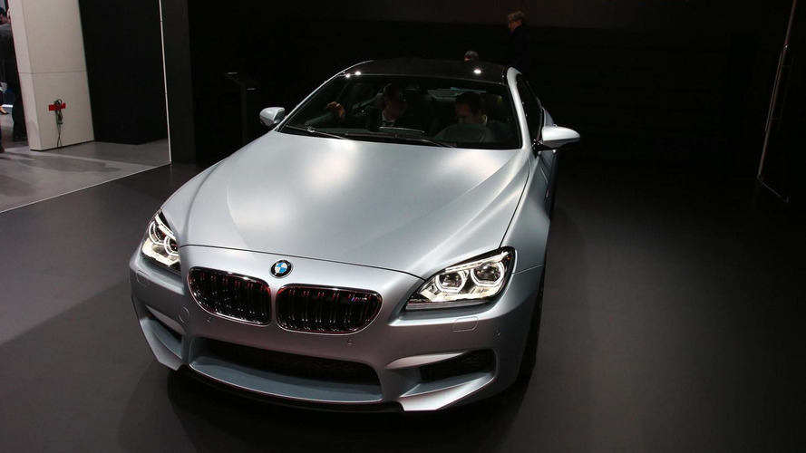 BMW M6 GranCoupe flexes its muscle in Detroit