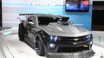 Turbo Chevrolet Camaro Coupe revealed at Chicago Auto Show [video]