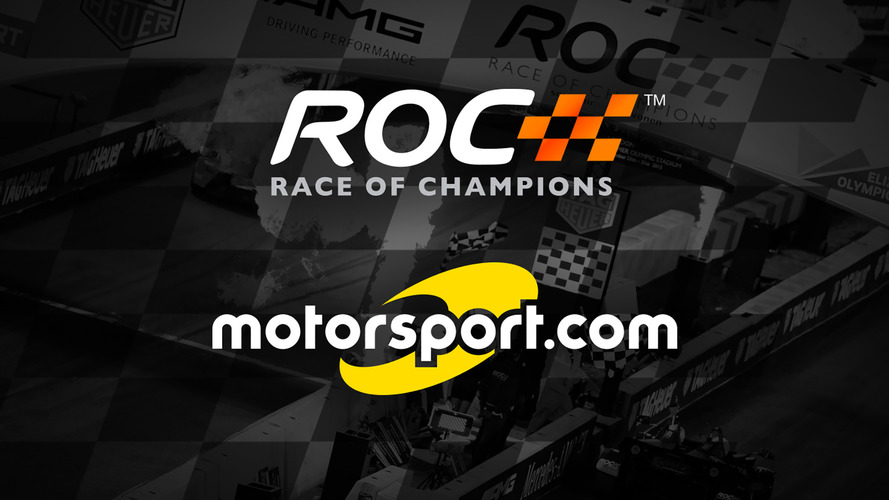 Motorsport.com announces official partnership of Race Of Champions