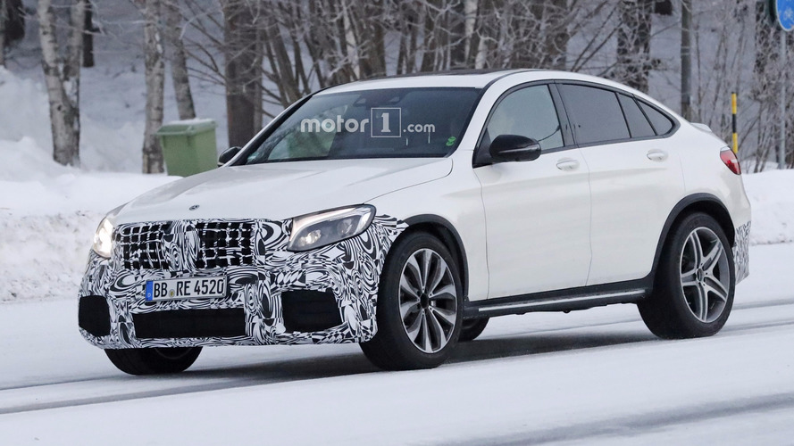 Mercedes-AMG GLC 63 Coupe spied for the first time