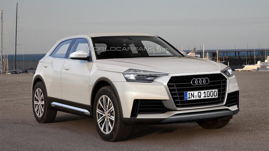 Audi Q1 render shows possible look
