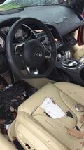 Damaged Audi R8