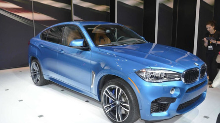 2015 BMW X5 M and X6 M power into Los Angeles Auto Show