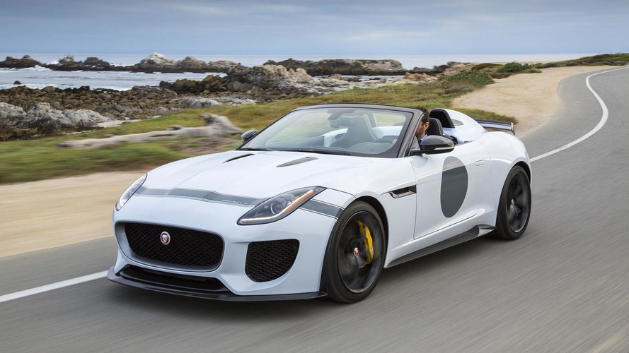 Jaguar F-Type Project 7 headed to Pebble Beach, US pricing announced