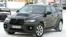 BMW X6 Hybrid Caught At a Petrol Station
