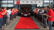 Tesla Model S launch in Norway 07.8.2013