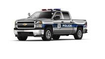 Chevrolet Silverado 1500 Crew Cab Special Service Vehicle unveiled