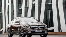 Mercedes A, CLA & GLA gain new engines & 4MATIC variants