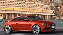 Audi TT rendering