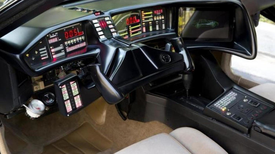 Replica KITT formerly owned by David Hasselhoff up for auction