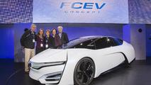 Honda FCEV Concept at 2013 Los Angeles Motor Show