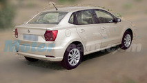 This is VW's new Ameo sedan for India