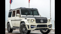 Tuner creates widest Mercedes G55 AMG out there [video]
