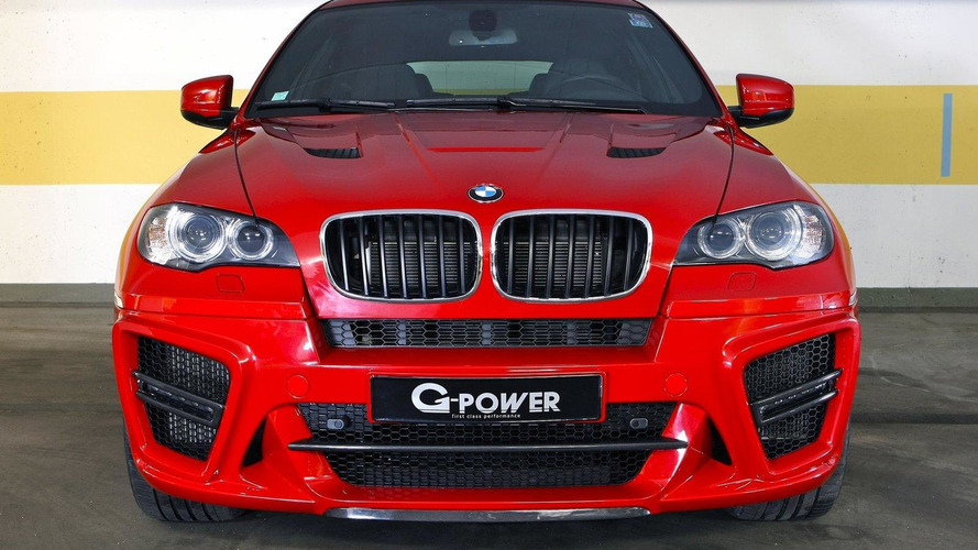 G-POWER X6 M TYPHOON S makes 725 PS