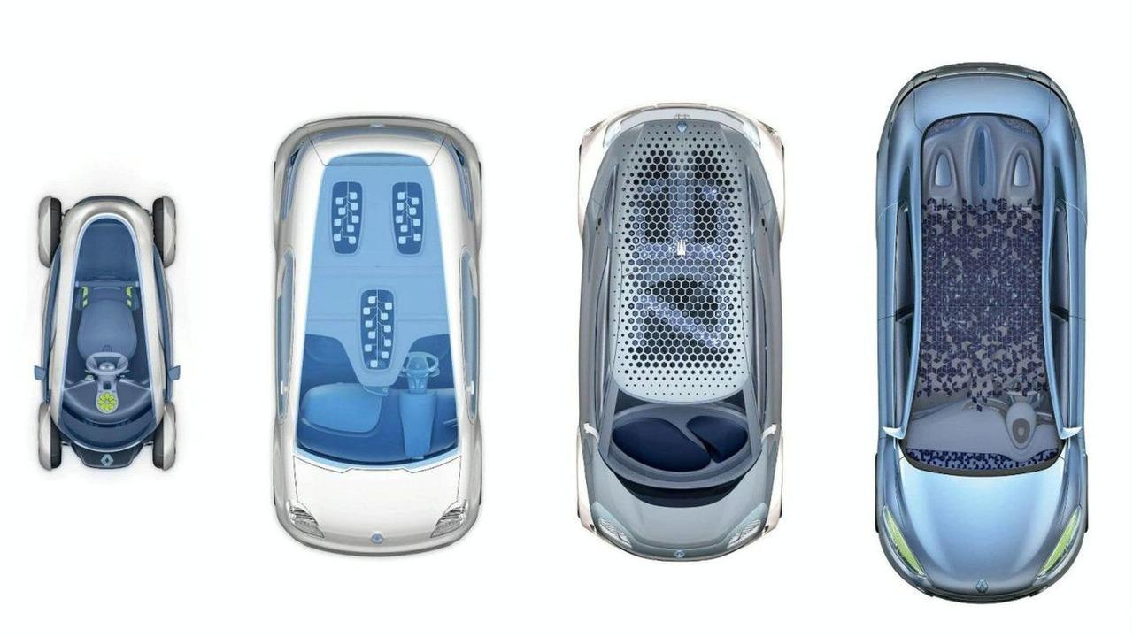Renault Four Zero Emissions Electric Vehicle Concepts Teaser image
