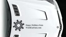 Mercedes AMG holiday e-card - snowflake creator