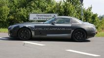 Mercedes-Benz SLS AMG Gullwing Spied in Grey