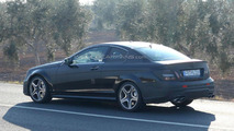 2012 Mercedes C55 AMG Coupe spied