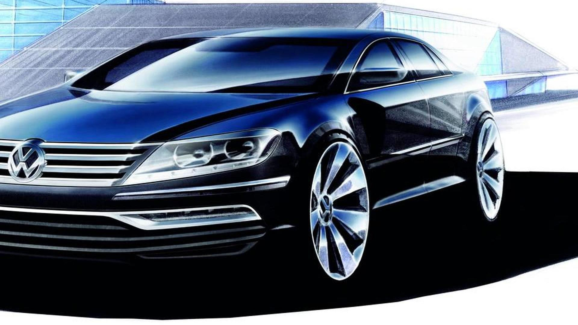 Next-generation Volkswagen Phaeton reportedly pushed back to 2018