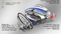 Maybach DRS concept, LA Auto Show Design Challenge 2010, 21.10.2010