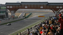 F1 paddock expecting race-day rain at Yeongam