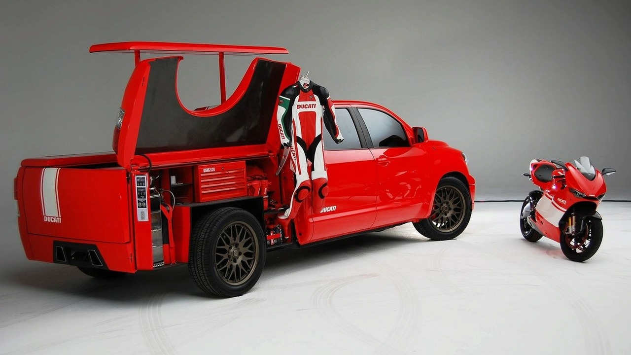 Toyota Tundra Ducati Transporter SEMA 2008