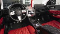 2010 Subaru Legacy VIP Concept interior shot