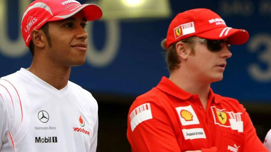 Raikkonen not afraid of Hamilton as teammate